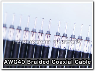 AWG40 Braided Coaxial Cable