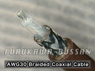 AWG30 Braided Coaxial Cable